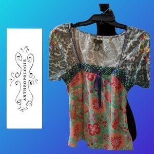 Anthropologie Fei silk blouse